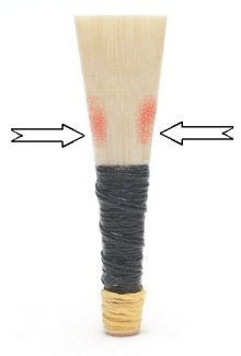 where to shave a chanter reed