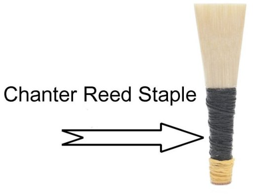 bagpipe chanter reed staple